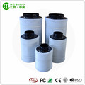 "6"" Hydroponic Air Carbon Filter Odor Control Scrubber for Inline Exhaust Fan"