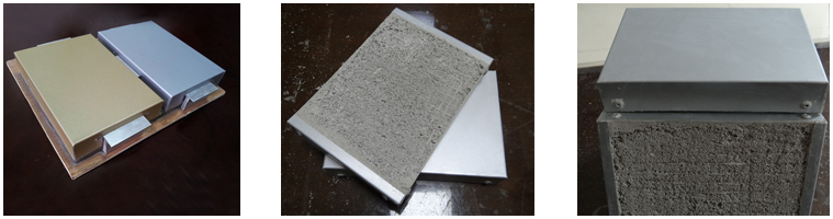 3D GRP core reinforced foam cement wall board