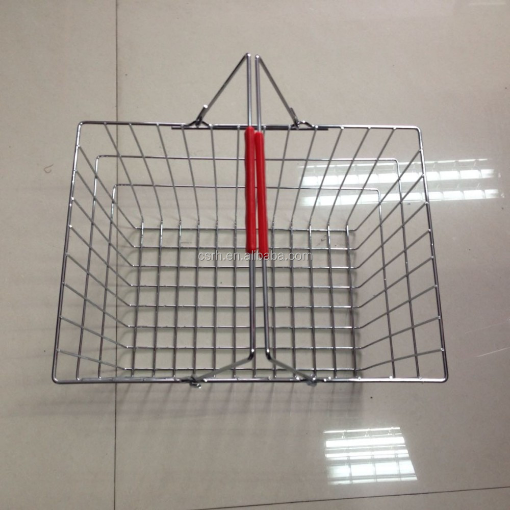 China Manufacture RH-BMH20 Chrome Shopping Basket