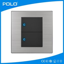 mini micro electric <strong>switch</strong> touch screen small three way wall <strong>switch</strong> uk 220v PC material 2 gang <strong>switch</strong>