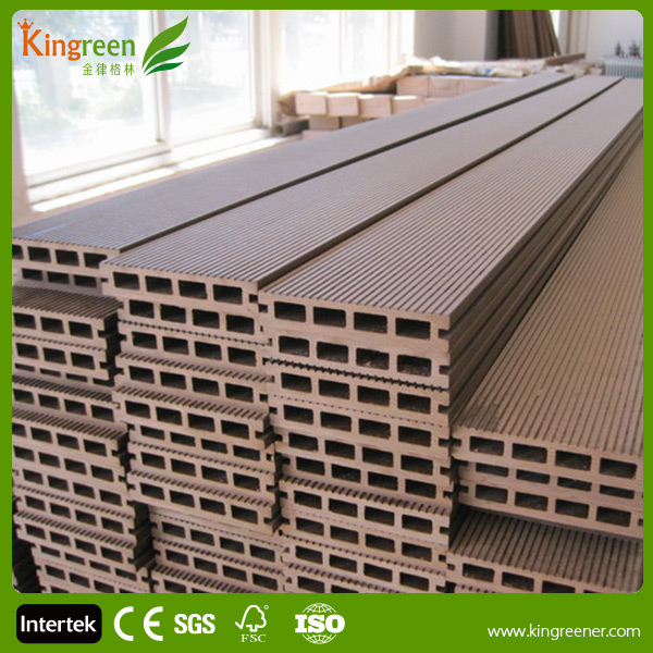 Eco-Friendly WPC Flooring/Outdoor Veneer Decking/Composite Decking China