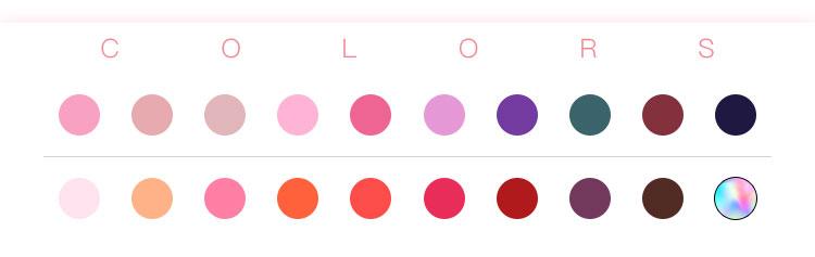 울트라 크림 질감 색상 변경 LipBalm 천연 유기농 립스틱