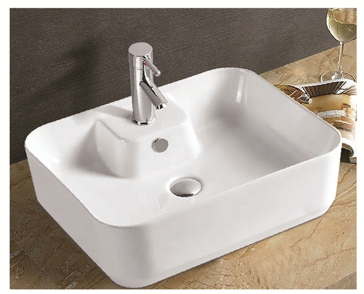 New ceramic sanitary warea granite counter top wash basin