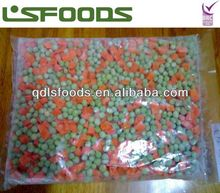 2013 Chinese Frozen vegetable mixed in 4 way(sweet corn, green pea,carrot,grean bean)