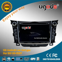 Car DVD Player for 2013 Hyundai i30 Car Audio System with DVD/CD/MP3/MP4/Bluetooth/Ipod/Dual Zone/Radio/GPS!