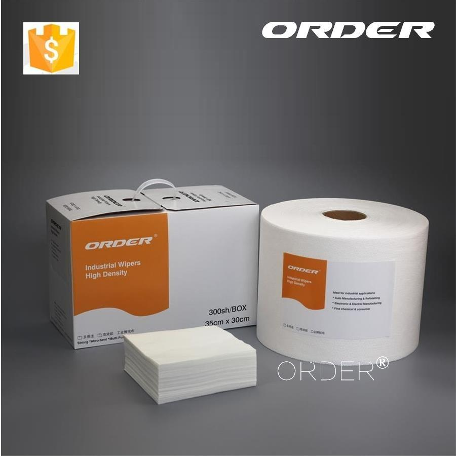 100% PP cost-effective soft lint free melt-blow industrial absorbent wiper