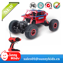 2.4G Remote Control Four-Wheel Drive Off-Road Climbing Car Bigfoot Drift Toy Car