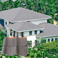 J1 305x305mm japanese ceramic clay roof tile