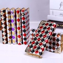 Bz5208 hefei mosen Korean fashion long plaids cheap hot sale women wallet purse