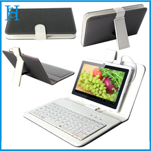 New Leather Micro USB Keyboard Case Stand Cover for 7 8 9 9.7 Android Tablet