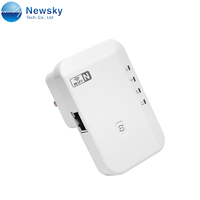 300Mbps Wireless Extender Booster 802.11 b/g/n Wall Plug 12v WiFi Repeater