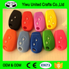 High quality silicone remote control car key cover for soft pvc key cover
