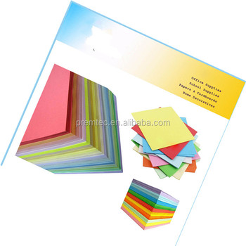 Best sale 50gsm bond paper pink yellow green blue