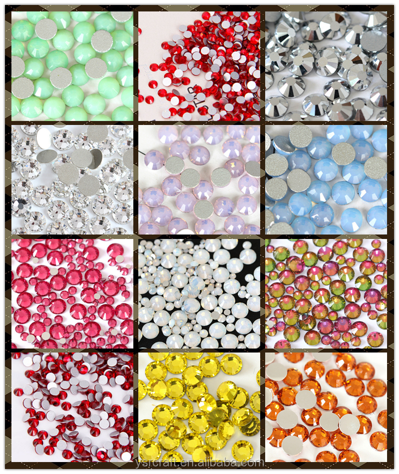 Diy crystal decorative rhinestones beads trimming chain for garmens and shoes