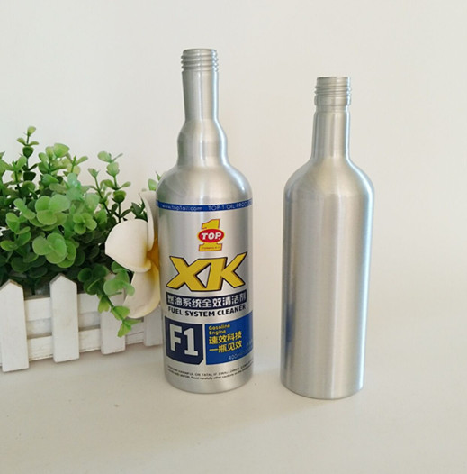 New best sell 300ml aluminum fuel additive bottle