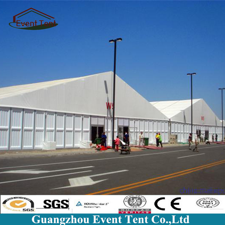 High Quality Temporary Outdoor Huge Canopy Warehouse Tents With ABS Solid Wall