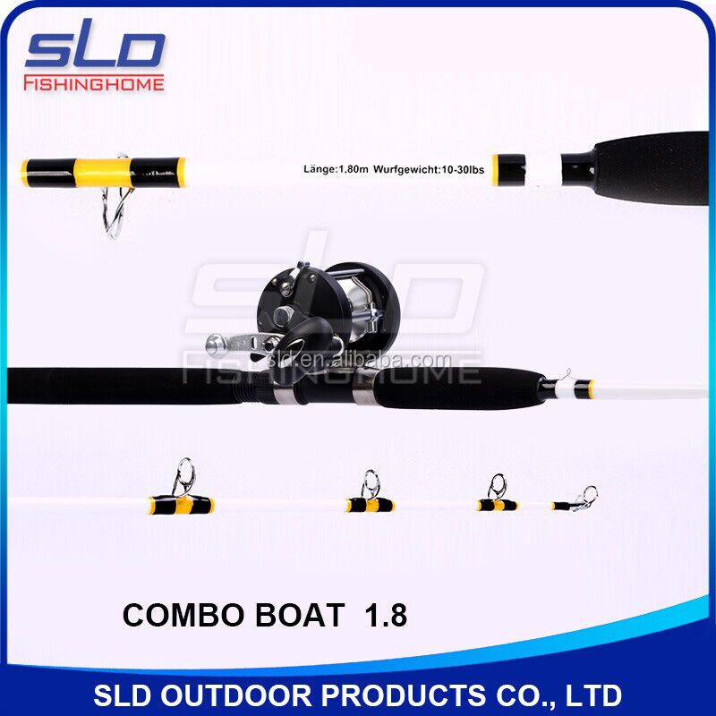 5.5ft New calcutta conquest trolling rod & trolling reel combo wraped in oxford carrying bag