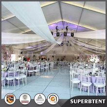 Used Arabian Party Tent 15x50m waterproof party tents with linings and curtains for wedding party for sale uk