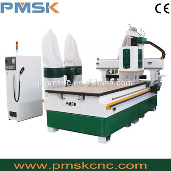 Multi-heads 1325 ATC Wood Working Machinery CNC Machine CNC Router with drilling function