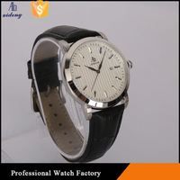 Casual Japan Movt Black Nylon Strap Watch Quartz Wristautomatic Watches For Man