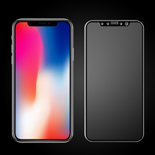 Various Colors Full Cover Tempered Glass Screen Protector for iPhone x/ Apple 10
