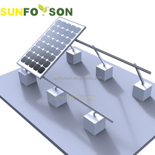 Adjustable Flat Roof Solar Mounting System