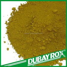 Inorganic Style Synthetic Iron Oxide Fe2O3 Yellow Pigment Powder