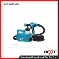 HVLP eva coil hose with plastic spray gun gun and lvlp spray gun