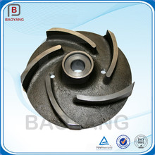 Sand casting cast iron water pump impeller