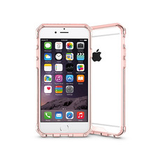Crash Proof Cute Silicone Bumper Decorate Cell Phone Case for iPhone 6