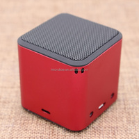 2016 Christmas Gift Mini Cube Bluetooth Speaker for Smart Phones