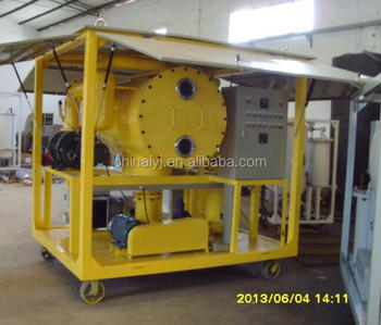Multi functions Vacuum Transformer Oil Purifiers, oil regeneration plant multi functions