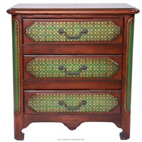 AMERICAN VILLAGE ANTIQUE FURNITURE STYLE THREE CHESTS OF DRAWERS