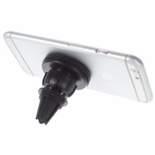 Convenient car air vent mount for iphone and mobile phone holder magnet