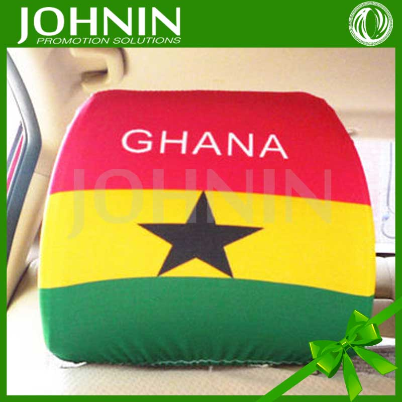 2018 Cheap Price Custom Made Promotional Flag Car Seat Cover