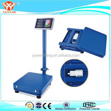 300kg Weight Computing Digital Floor Platform Scale Postal Shipping Mailing New YY-007