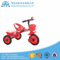 China wholesale red cargo kids tricycles /hot sale children three cycles bike bicycle