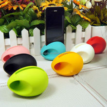 No Extra Power Needed Silicone mobile Phone Speaker/Silicon Mobile Sound Cell Phone Amplifier/Speaker For Iphone
