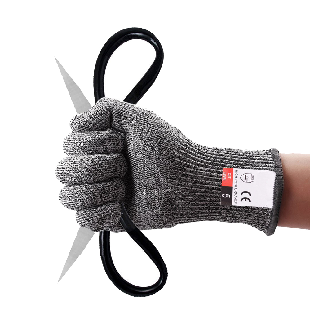 Hppe ice fishing cut resistant diving <strong>gloves</strong> adjustable