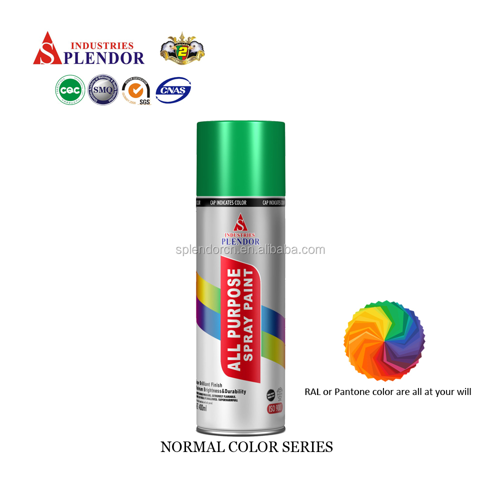 Splendor heat reflective spray paint