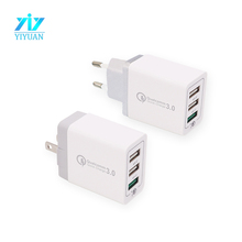 Universal home charging charger qualcomm 3 usb adapter 240V / 3A quick charger 3.0