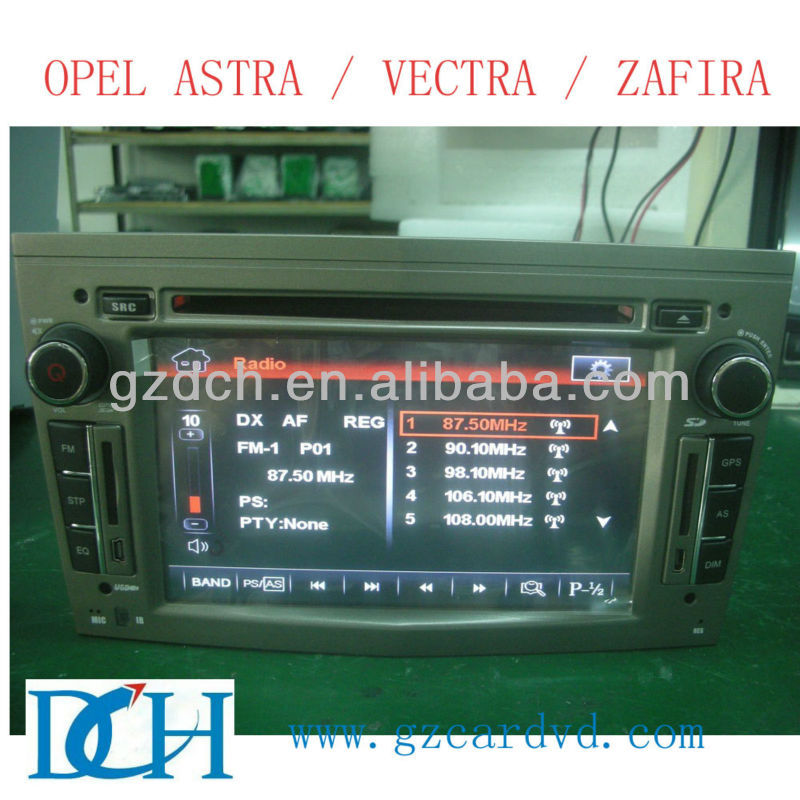 double din car dvd opel vectra WS-8886