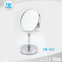 Promotional high quality cosmetic bathroom magnifying mirror