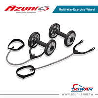 Home Gym Power Wheel / Ab Fitness Weel / Multi-Way Exercise Wheel