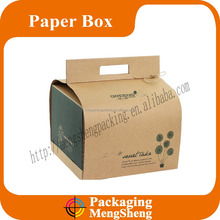 2016 Recyclable cheap paper cake box
