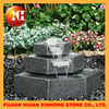 laminar jumping water jet stone fountain