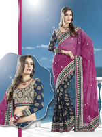 Border Designer Saree Indian Culture