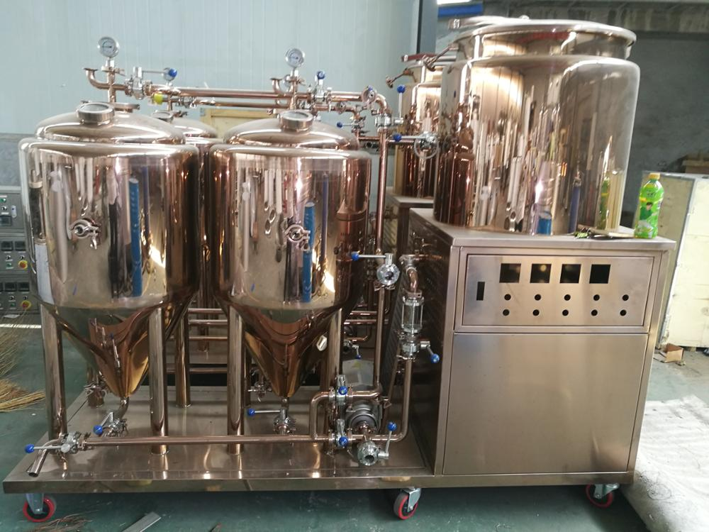 min order small home 50 litre beer brewing equipment