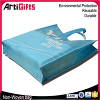 New fashion design promotional non woven cloth shopping bags