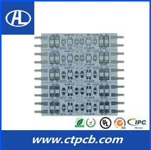 China made electronic hasl red solder mask top 10 pcb suppliers in china